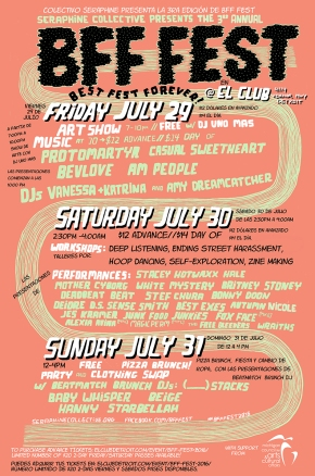 BFF FEST 3 – poster by LucyCahill!